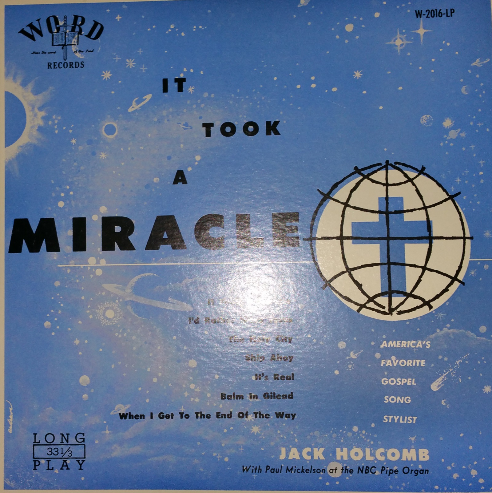 Jack Holcomb - It Took A...Miracle